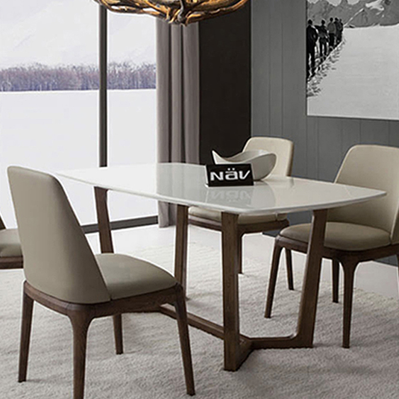 Ikea Chaise De Salle A Manger. Table Chaises Melo Blanc With Ikea ...