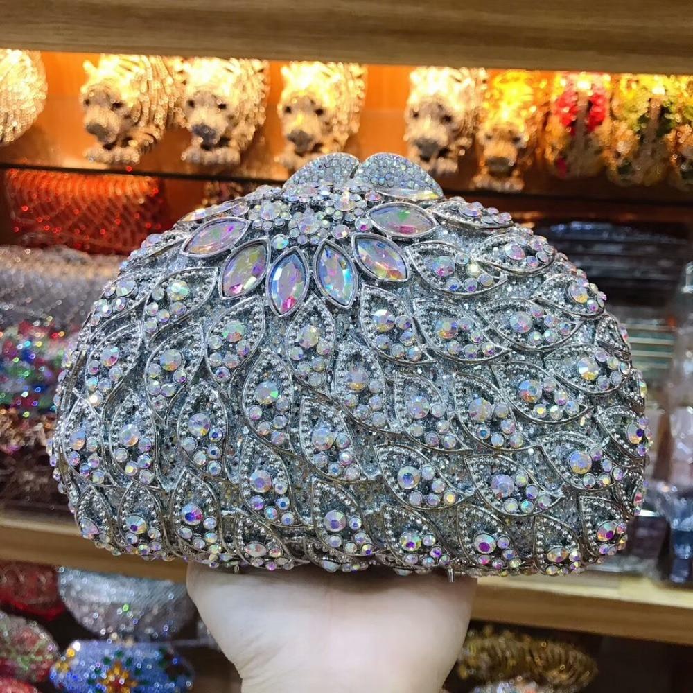 Soirée Cristal Same À De Sacs Mode Pictur Parti Diamant Sac Main Pictur Chaîne D'embrayage Luxe Lady As color Mariage Fleur Femmes Bleu Color Bandoulière C7anqyE