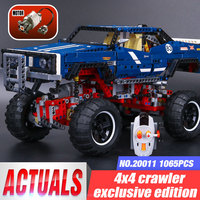 Lepin 20011 NEW 1605pcs Technic Remote Control Electric Off Road Vehicles Building Block DIY Toys Compatible