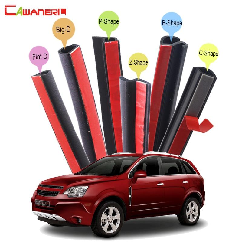все цены на Cawanerl Rubber Car Sealing Strip Kit Weatherstrip Seal Edge Trim For Chevrolet Blazer Captiva Trailblazer Spin Tracker