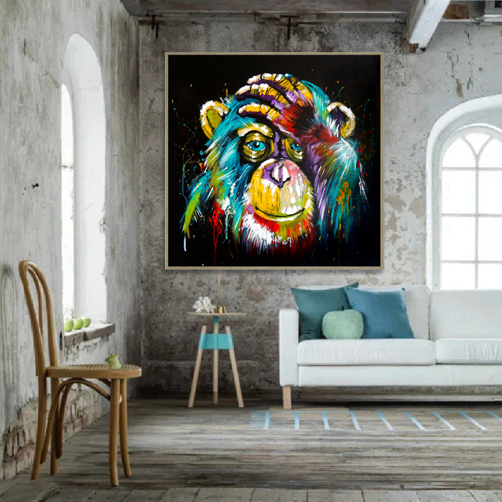 Modern Pop Wall Art Decorative Canvas Prints Colorful ...