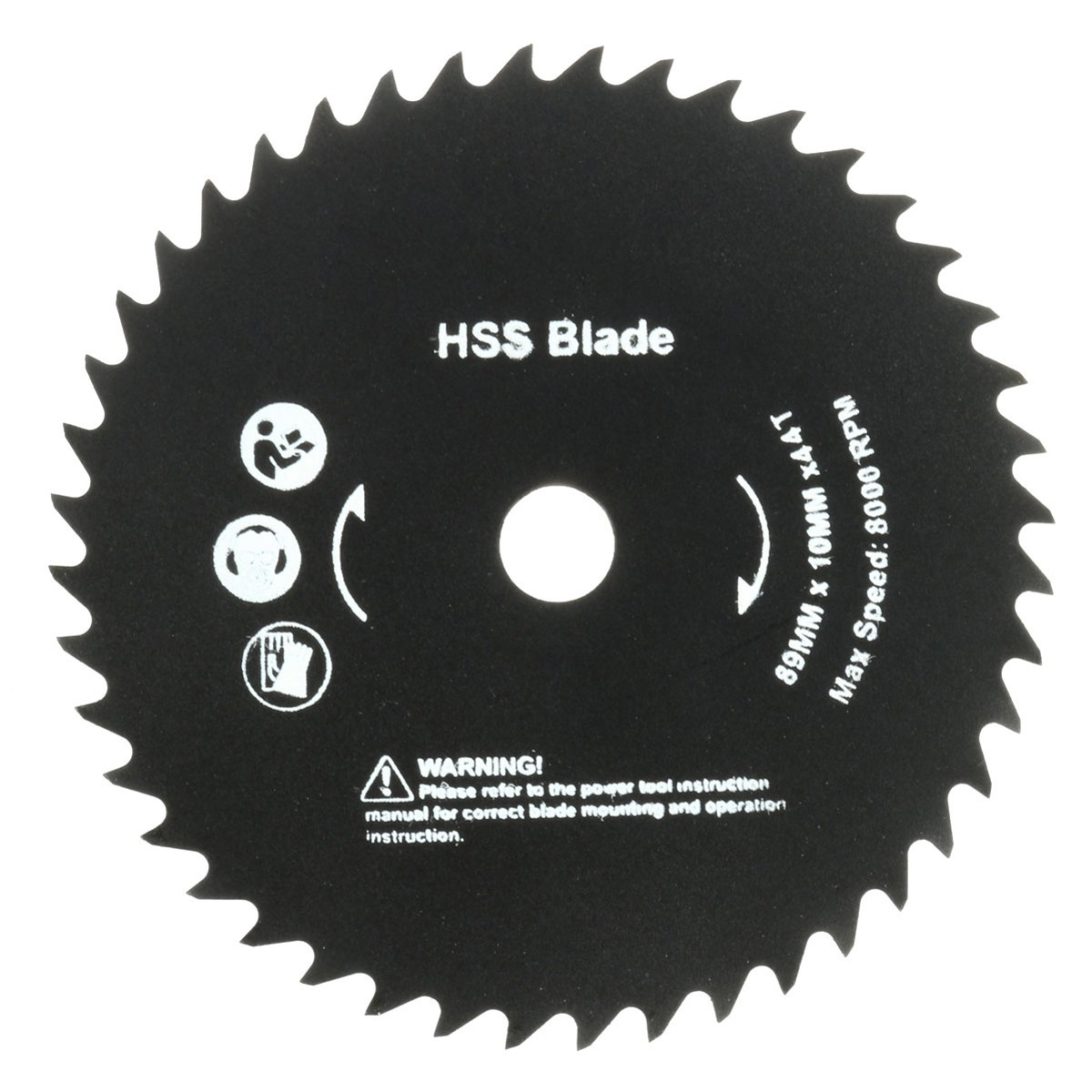 1PC Round HSS Saw Blades 89mm 44 Teeth Cutting Disc Wheel For Worx WorxSaw Cutter Best Price