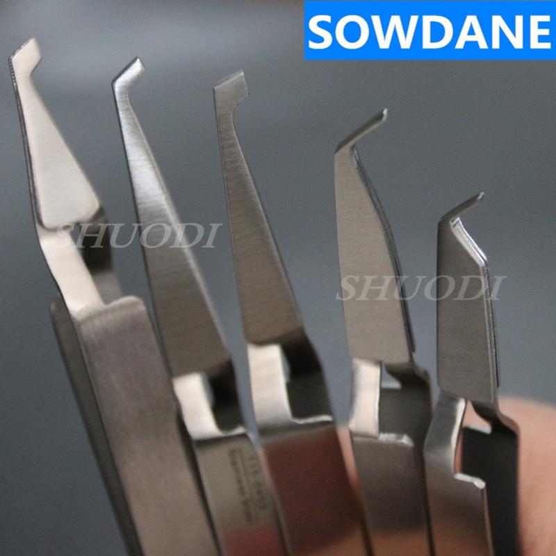 Dental Oral Care Orthodontic Bonding Tweezer Holder Placer Instrument 2