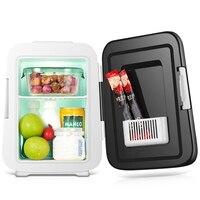 4L Автомобильная электроника портативный автомобильный холодильник мини холодильник 12 в портативный кулер холодильник для авто автомобиль