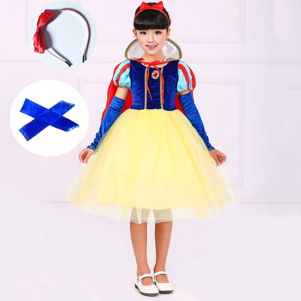 2-10Y Toddler Girl Winter Outfits Infant Outfits Princess Party Tutu Dresses Kids Costumes Girls Halloween Crown Dress