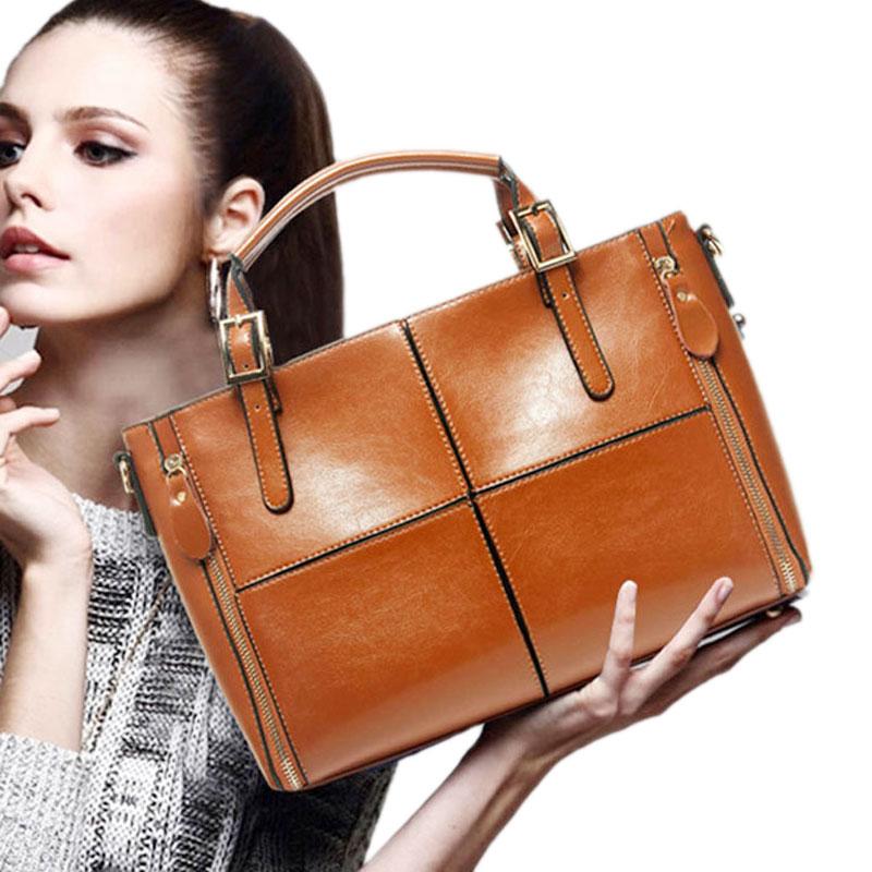 Valenkuci Brand Women Handbag Genuine Leather crossbody bags Women Messenger Bags Women Bolsas Femininas Vintage Tote