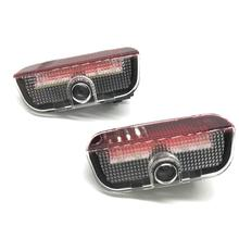 JURUS 2Pcs LED Car Logo Door Light For SKODA Superb 2009-2015 Lights Projection Lamp Ghost Shadow Welcome Light Auto Accessories 2x canbus led car door logo welcome light ghost shadow projection emblem lights for seat alhambra n7 2011 2012 2013 2014