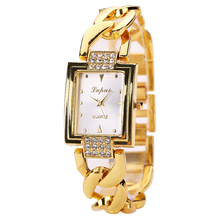 montre femme lvpai Women's Watches Luxury Gold Bracelet