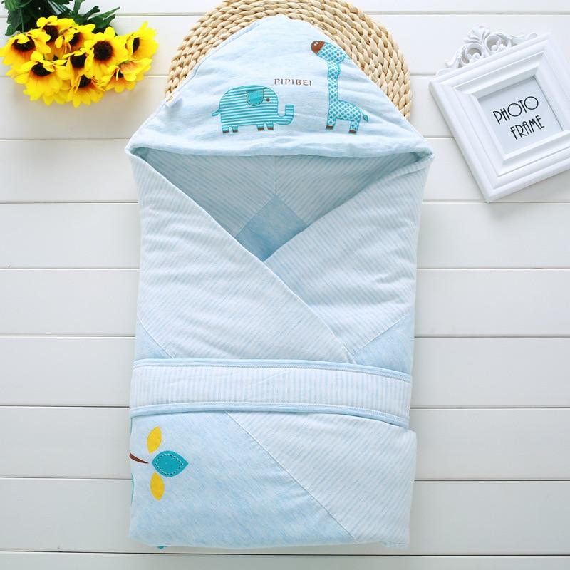 3 Colors Kids Envelope For Newborn Baby Bed Blanket Infant Baby Sleeping Bag Newborn Wrap Swaddle Summer Spring Autumn Sleepsack