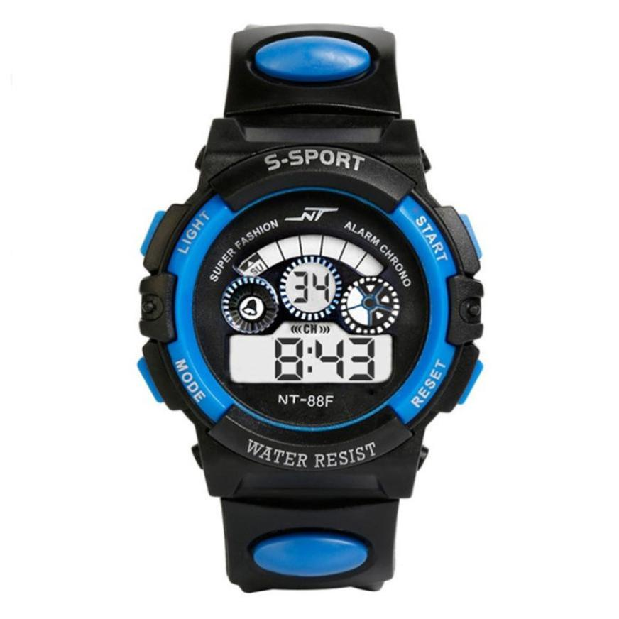 TZ#501 Waterproof Sport Student Children Watch Kids Watches Clock Child LED Digital Wristwatch Electronic Wrist Watch for Boy fashion snake shape boy girl children watch sport led digital wristwatch for women men black rubber running ladies watch kids