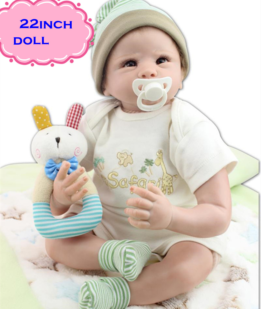 22inch/55cm Best Playmates NPK Silicone Reborn Baby Dolls Toys Girls Dolls Baby For Sale Like Real Babies Designed For Children free shipping hot sale real silicon baby dolls 55cm 22inch npk brand lifelike lovely reborn dolls babies toys for children gift
