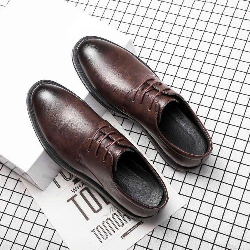 Élégante De Luxe Formelle Chaussures Designer Cuir Sociale brown Marque Noir Mariage Hommes Msw8118182 En D'été gris pCC8dFxwq