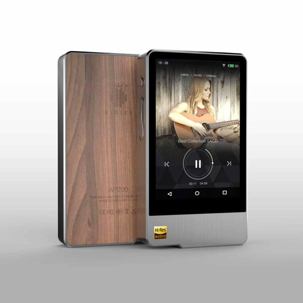 Hidizs AP200 Android Bluetooth HiFi музыкальный плеер 32G/64G (Встроенная память) 3,5 'IPS DoubleES9118C DAC DSD PCM FLAC