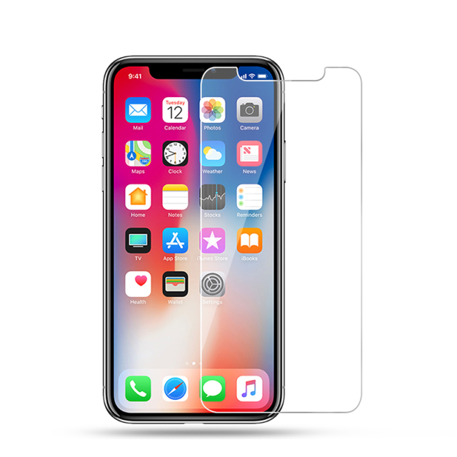 for iPhone X screen protector for iPhone 8 plus 7 6S 6 plus 5 5S 5C SE tempered glass case friendly protective film accessories