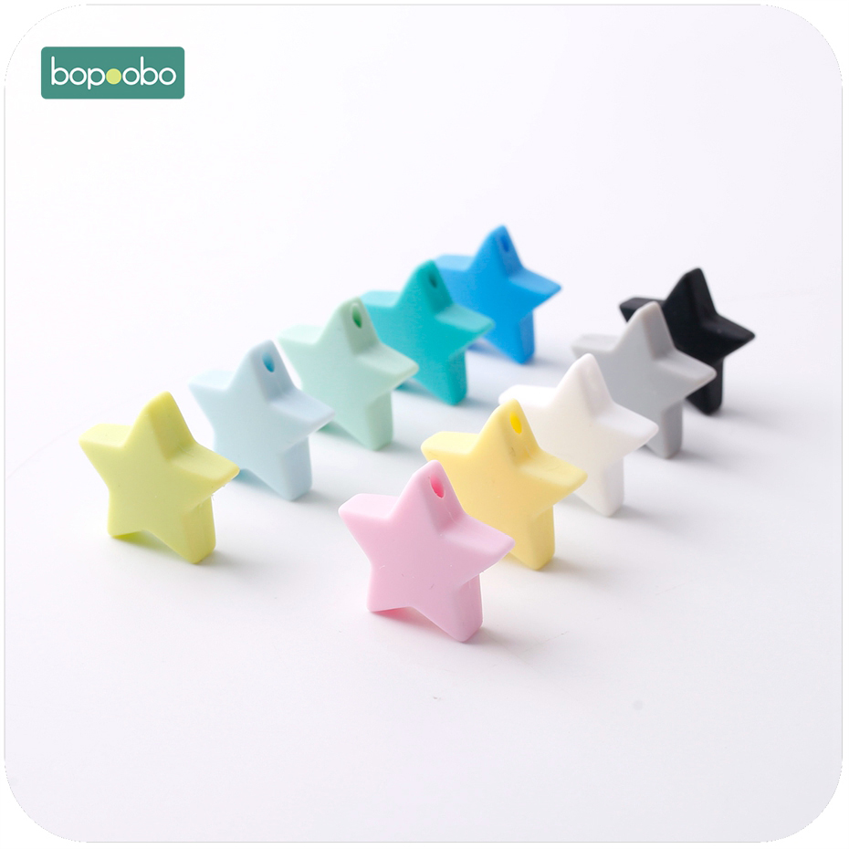 Star, Beads, Accessories, Bopoobo, Free, Colorful
