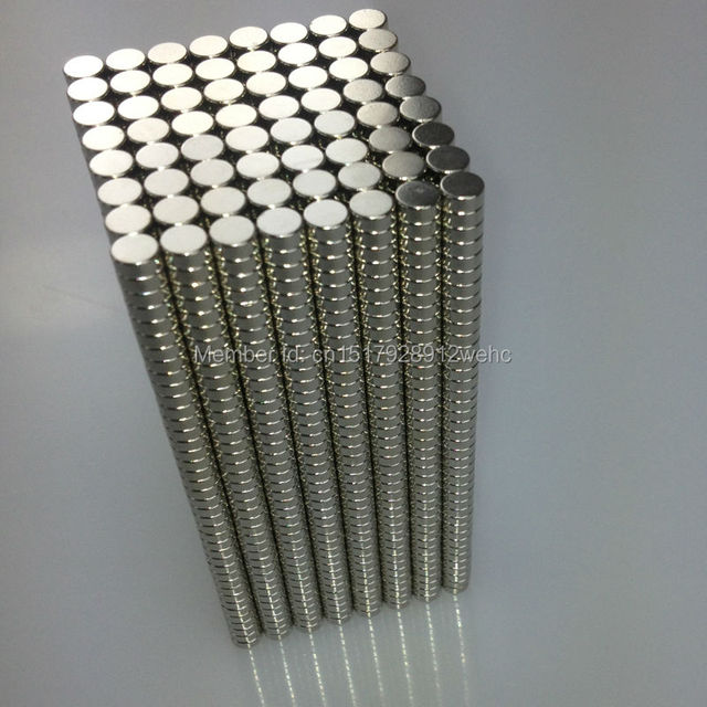 50PCS disc D6*3MM  strong power small  neodymium ndfeb permanent rare earth magnet fasterners
