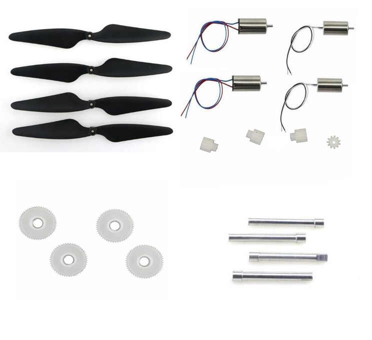 JJR/C JJRC H55 RC Quadcopter onderdelen motor blades as big gear set