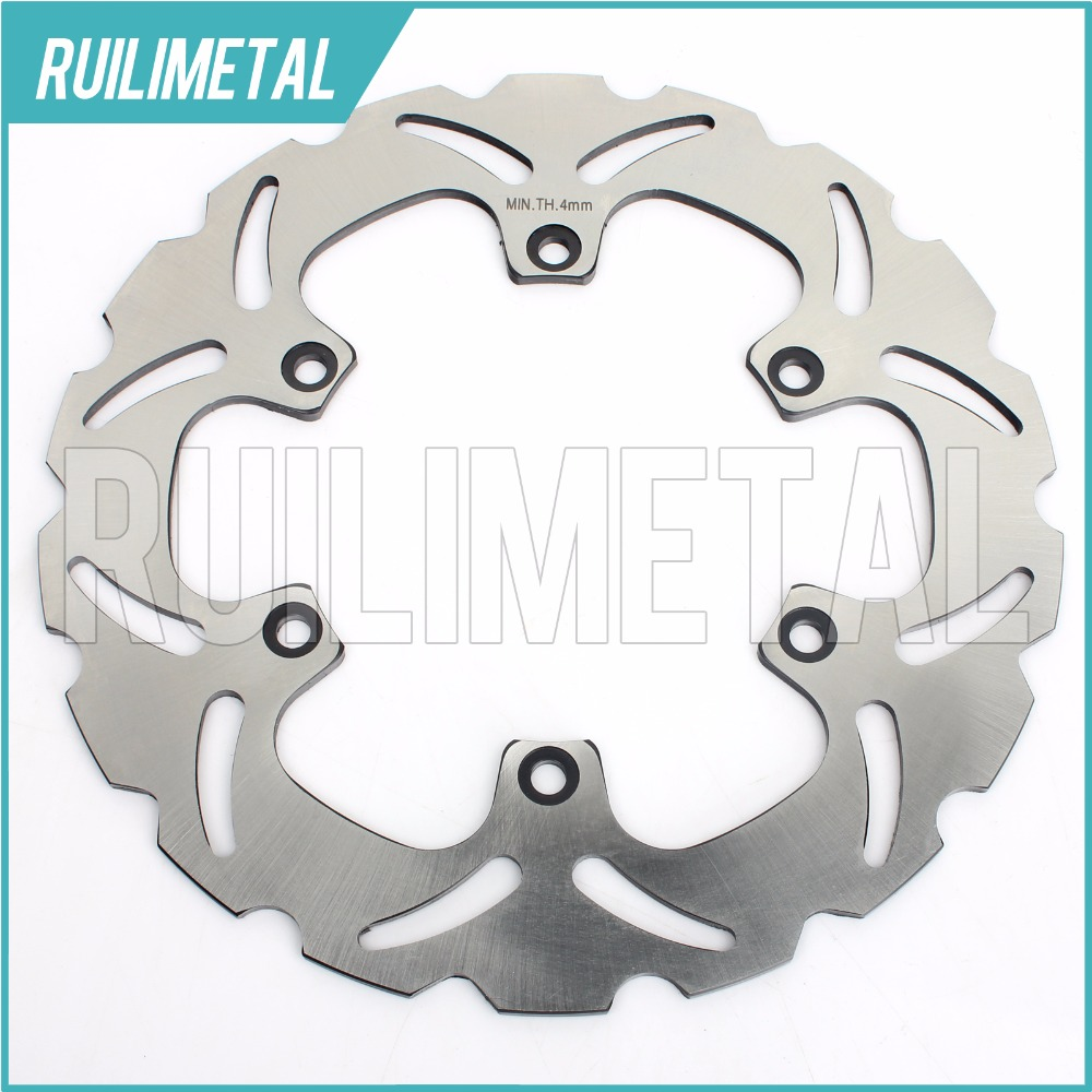 Rear Brake Disc Rotor for YAMAHA BT BULLDOG 1100 XJR 1200 1300 1998-2015  MT01 1670 MT-01 2005 2006 2007 2008 2009 2010 2011 mfs motor motorcycle part front rear brake discs rotor for yamaha yzf r6 2003 2004 2005 yzfr6 03 04 05 gold