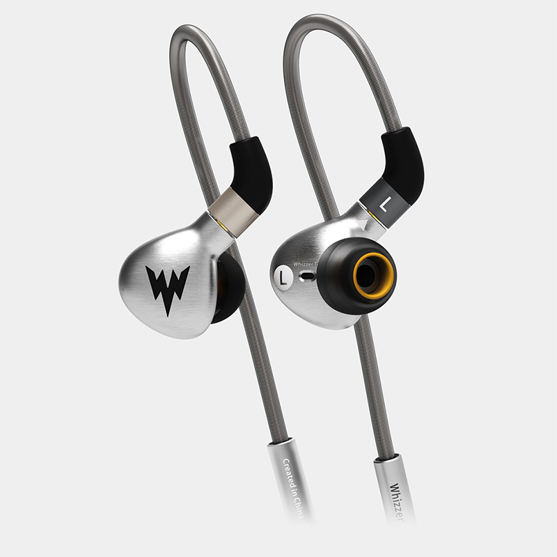 Whizzer a15 In Ear Earphone HIFI Metal headsets mmcx bluetooth earphones Tri-frequencies Equalization Interface For iphone 7 original senfer dt2 ie800 dynamic with 2ba hybrid drive in ear earphone ceramic hifi earphone earbuds with mmcx interface