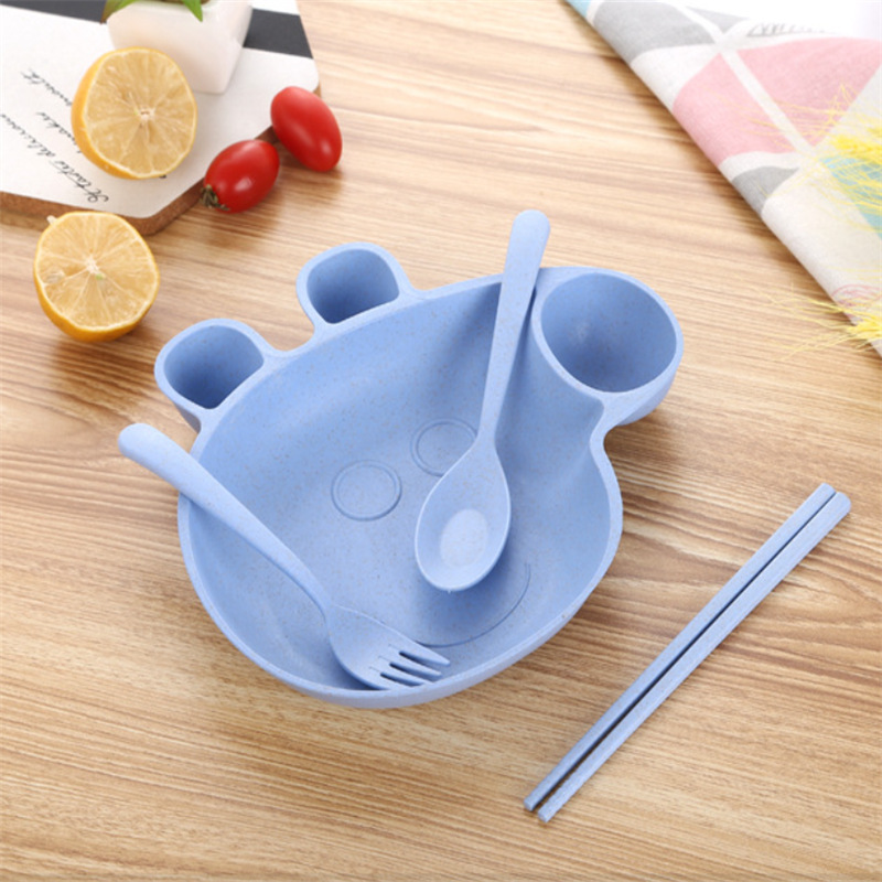 Cartoon Peppa Pig Baby Dinner Table Flatware Set Plastic Dinner Plate Baby happy birthday party supplies for Kids Set Gifts-in Flatware Sets from Home ... & Cartoon Peppa Pig Baby Dinner Table Flatware Set Plastic Dinner ...