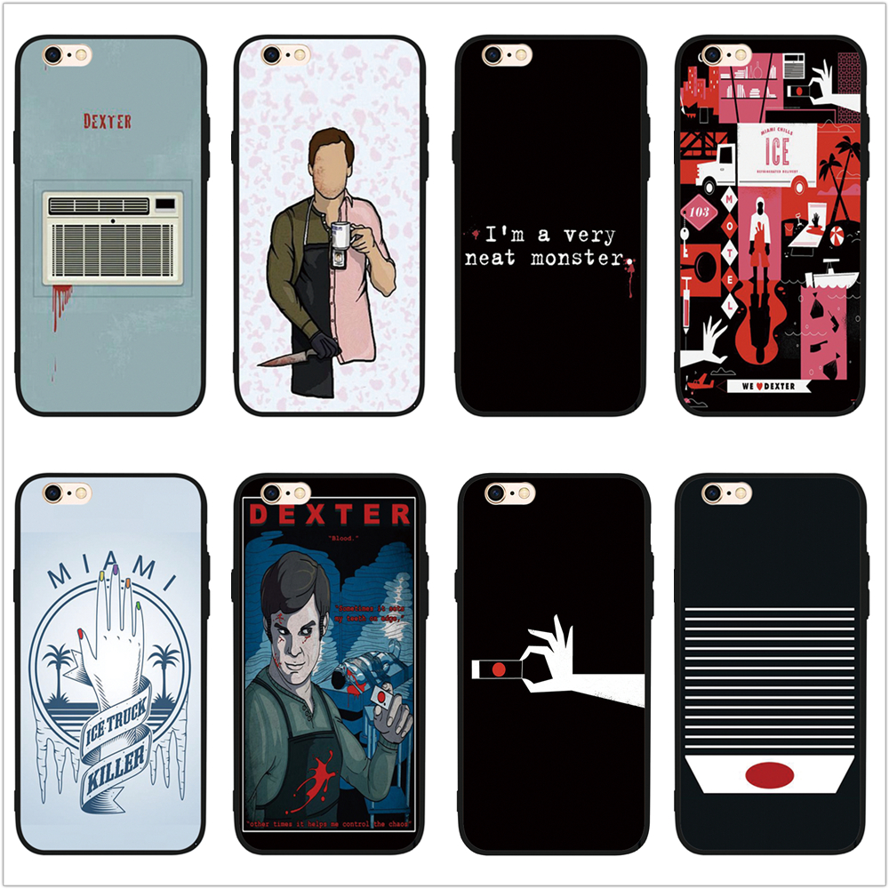 Detail Feedback Questions About Fatperson American Tv Dexter Posters Phone Case Cover For Iphone Se S S  X Plus Plus Plus On Aliexpress Com