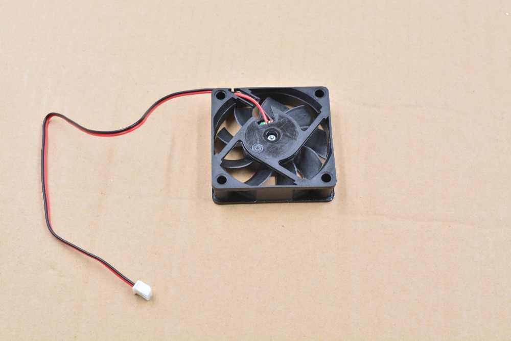 1 Uds 3d impresora fan 6015 2 pines 60mm 60x60x15mm 6cm ventilador de refrigeración ventilador para tarjeta gráfica DC 5 V/12 V/24 V 6015 2P