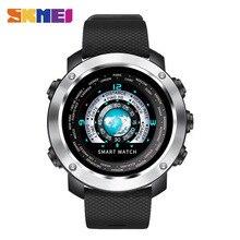 SKMEI Smart Digital Klocka HeartRate Kalorier Fjärrkamera Vattentät Armbandsur Mode Klocka Relogio Masculino Erkek Kol Saati