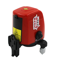 ACUANGLE A8826D 360 degree selbstverlaufende Tragbare mini Cross Red Laser Ebenen Meter 2 linie 1 punkt 635nm Nivellierung Instrument