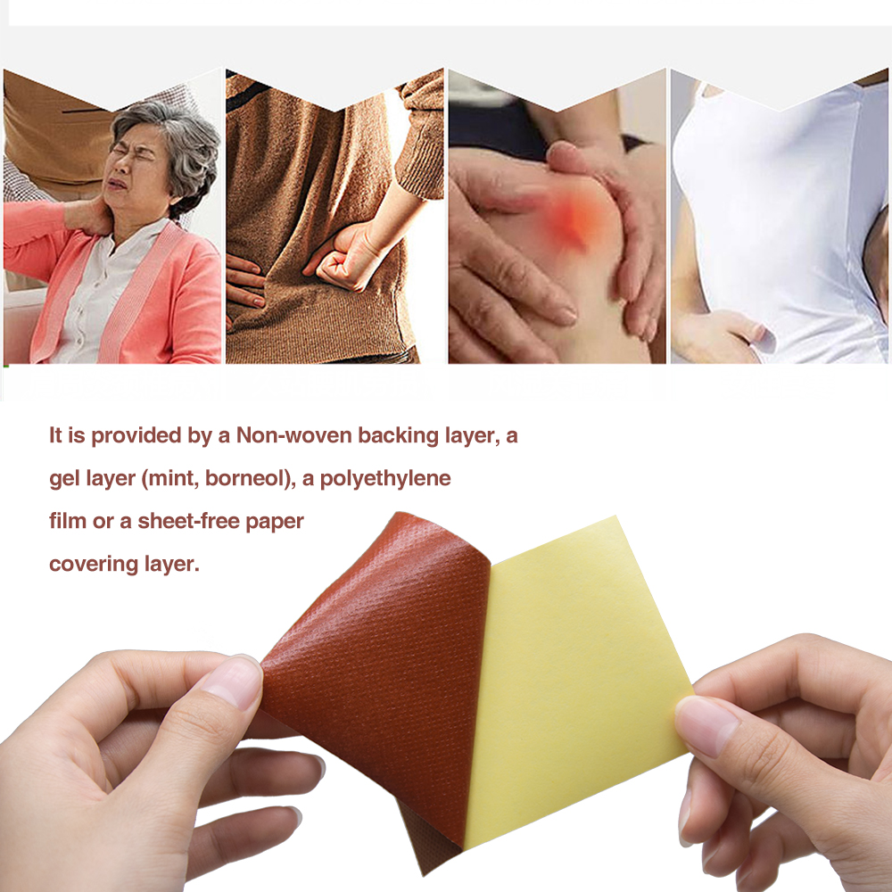 8Pcs Chinese Traditional Pain In The Joint Painkillers Chinese Extract Knee Rheumatoid Arthritis Pain Patch Skin Care C1490 in Patches from Beauty Health