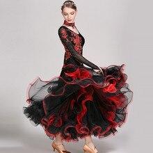 Standard ballroom dancing clothes ballroom dance competition dresses tango foxtrot waltz dresses ballroom dancing dress