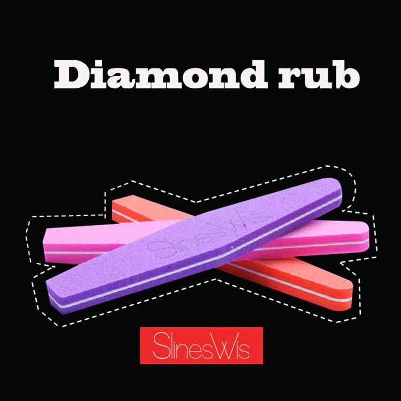 3 Pcs Ferramentas Da Arte do Prego Lixar Arquivos Buffer Do Bloco Manicure Pedicure Ferramentas Areia Papel Espuma UV Gel Lixa de Unhas