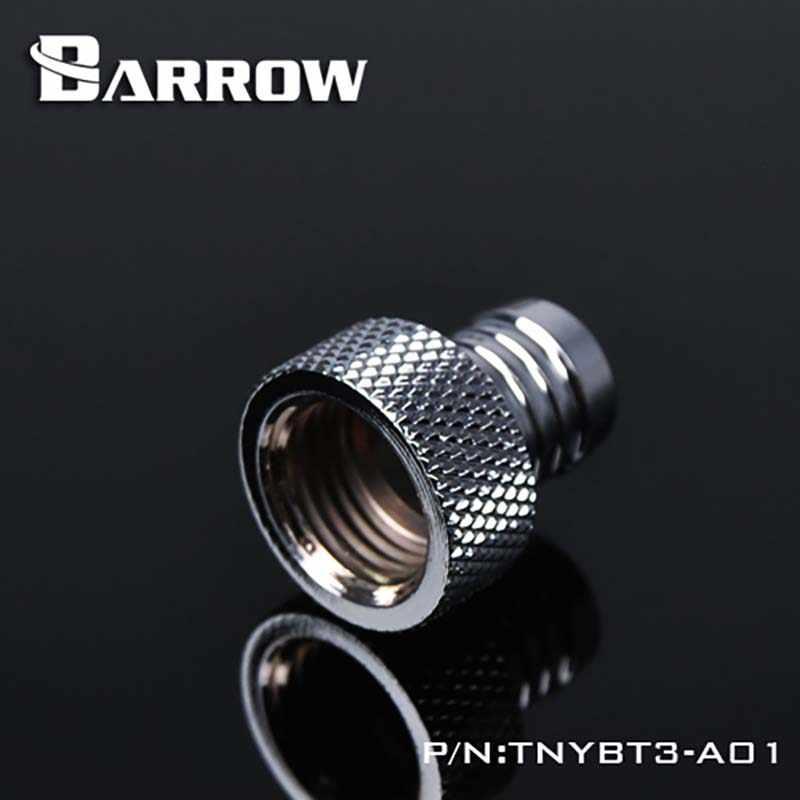 Barrow น้ำ cooler หญิงเจดีย์ 3/8 สีดำ/เงิน/ขาว/ทองน้ำ Cooling Hand Twist ฮีทซิงค์ gadget