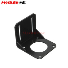 NEMA 23 57 Steppr Motor Accessories Bracket Support Shelf Mounting L Bracket Mount Nema23 motor holder Stepper motor bracket(China)