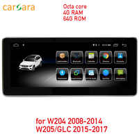 4G RAM 64G ROM Android touch screen for C Class W204 2008-2014 W205 GLC 10.25