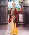 Envío gratis Hanfu ropa traje masculino túnicas Emperador traje Chino traje tradicional
