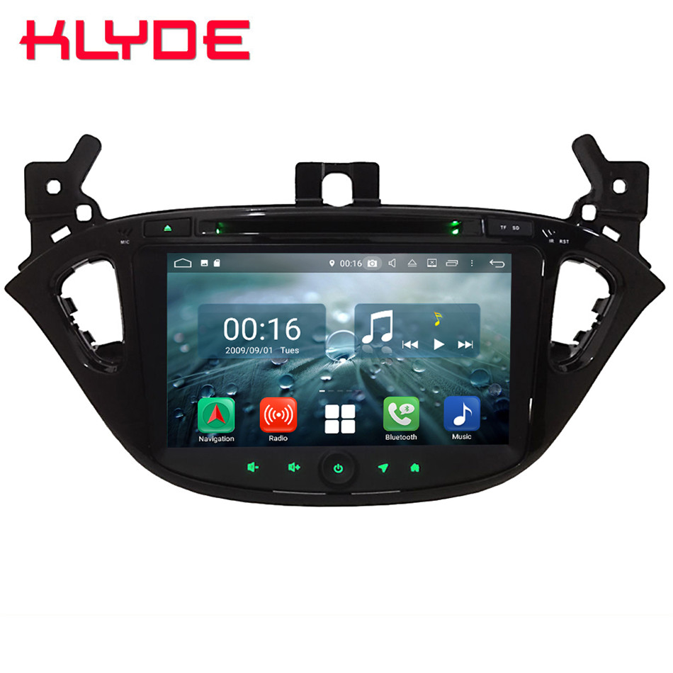 8 Octa Core 4G Wifi Android 8.1 4GB RAM 64GB ROM Car DVD Multimedia Player Autoradio Stereo For Opel/Vauxhal Corsa E 2014 2018