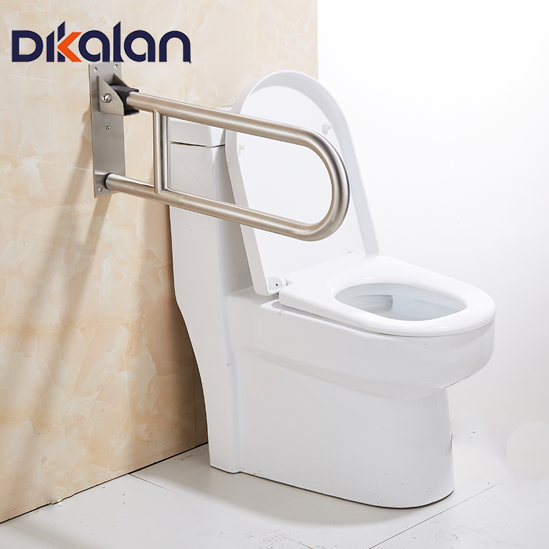 Sliver Rotatable Toilet Safety Rails for disabled elderly Peopele ...