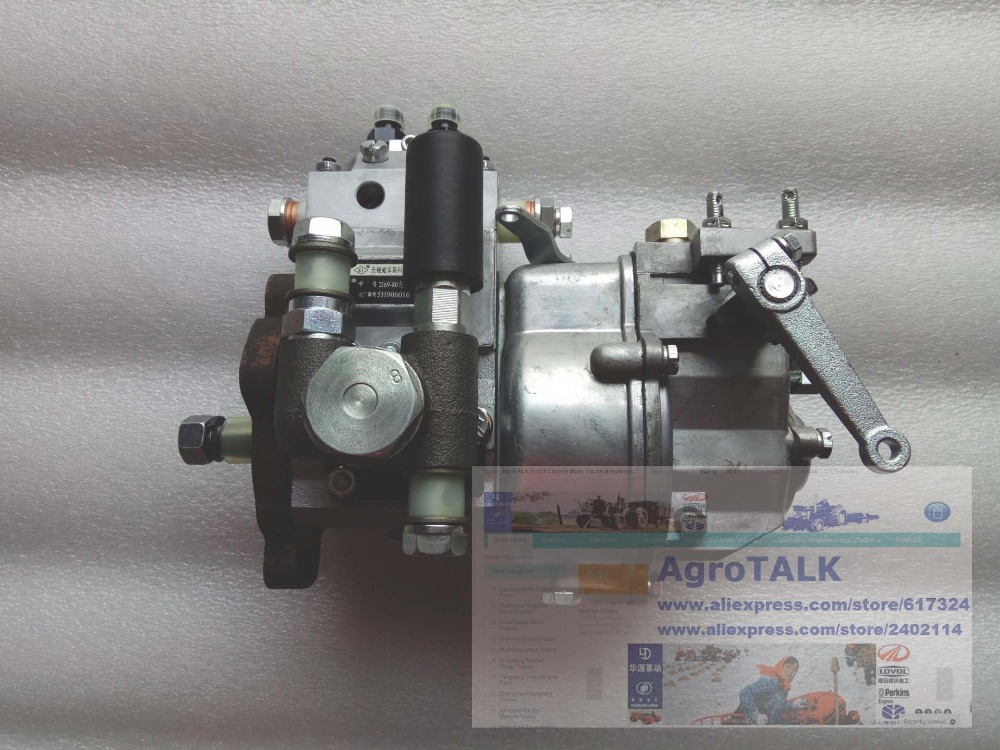 Fujian Lijia engine parts, SL2100, the high pressure fuel pump, part number: jiangdong engine parts for tractor the set of fuel pump repair kit for engine jd495