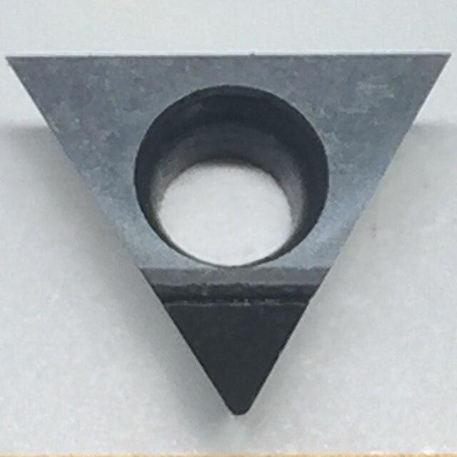 2 pièces TPGW080202/04 PCD30 insérer des outils de lame de diamant utilisés pour les outils diamantés polycristallins en aluminium PCD CNC