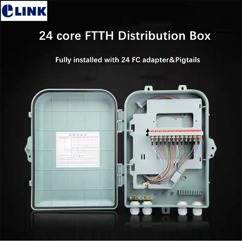 24 Core Ftth Distribution Box Fully With Fc Upc Apc Adapter And Pigtails Sm 360*260*95mm Optical Fiber Joint Box Outdoor Indoor Easy To Lubricate Communication Equipments Back To Search Resultscellphones & Telecommunications