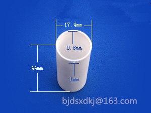 Alumina ceramic crucible / diameter*height=17.4*44/ Special crucible for thermal analysis instrument alumina ceramic crucible diameter height 12 8 special crucible for thermal analysis instrument