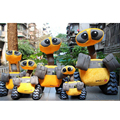 Fancytrader Giant WALL-E Robot Plush Toys Big Stuffed Walle 55cm Doll for Kids Birthday Christmas Gift