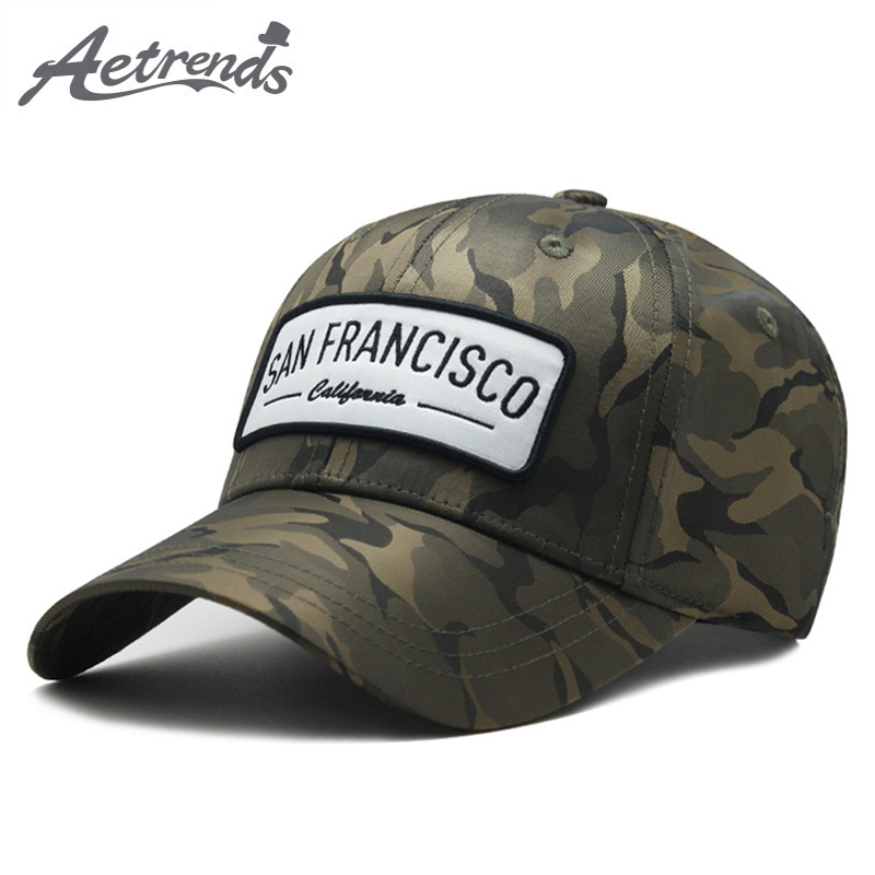 [AETRENDS] Men Women Camouflage   Cap   Mens   Baseball     Caps   Outdoor Sport Snapback Hip Hop Hat Z-6515