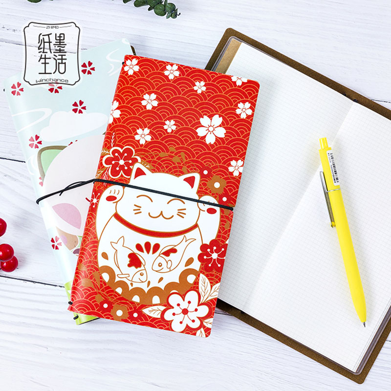 New Weekly Planner Cute Diary notebook paper 60 sheets Creative Trends hand book leather Journal Stationery Products gift in Notebooks from Office School Supplies