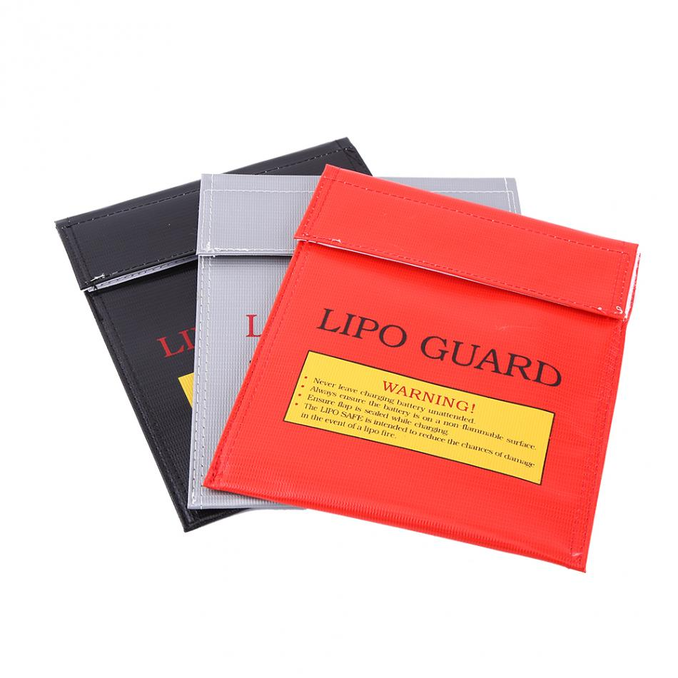 3 Colors Explosion-proof RC LiPo Guard Battery Fireproof Safety Storage Bag Charging Sack