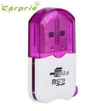 Высокая Скорость Mini USB 2.0 Micro SD TF T-Flash чтения карт памяти адаптера futural цифровой JUN28