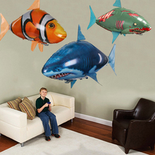 Remote Control Air Swimming Fish Flying Balloons Kids Toys Gifts Party Robots For Shark