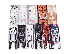 Three-Dimensional Animal Silk Scarf Unique Dog Design