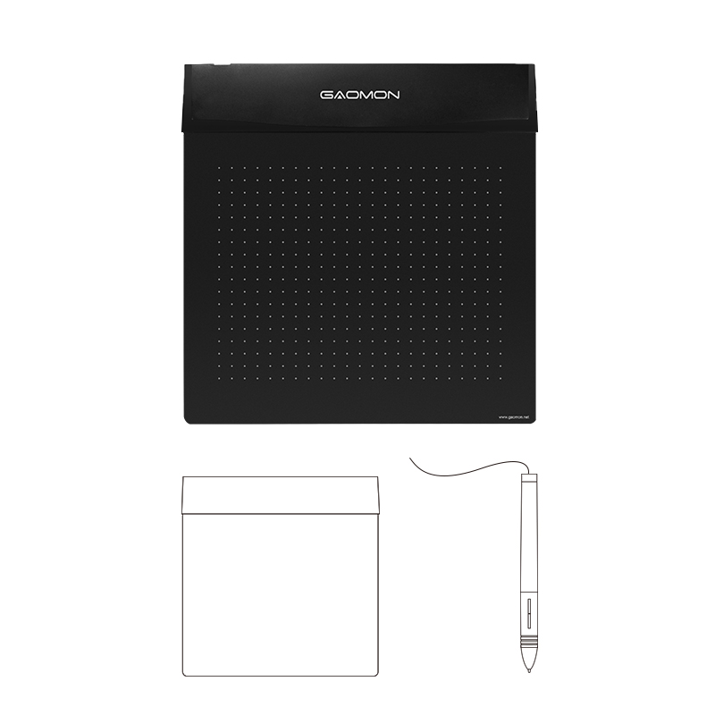 Brand New GAOMON S56K 6 x 5 Flexible Soft Digital Graphic Pen font b Tablet b