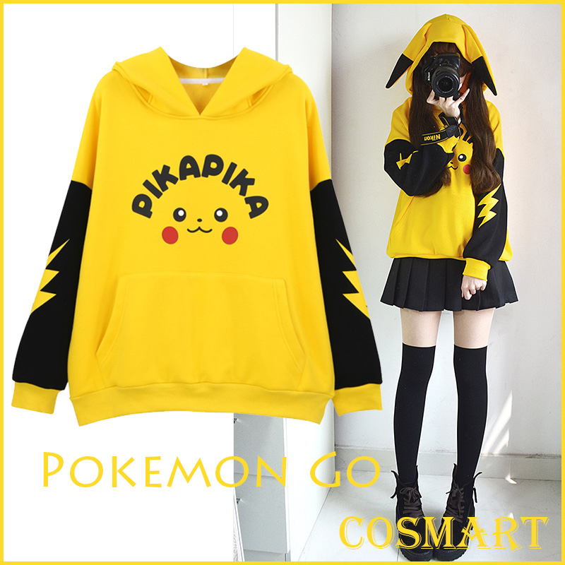 [stock]-font-b-pokemon-b-font-go-pikachu-cosplay-costume-cotton-fleece-hoodie-long-sleeve-pullover-winter-coat-new-free-ship
